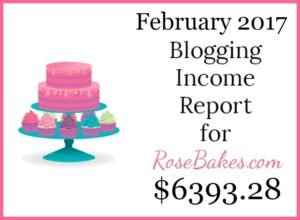 February 2017 Blogging Income Report