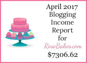 April 2017 Blogging Income Report