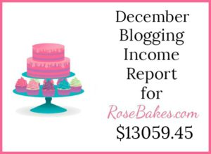 December 2017 Blogging Income Report